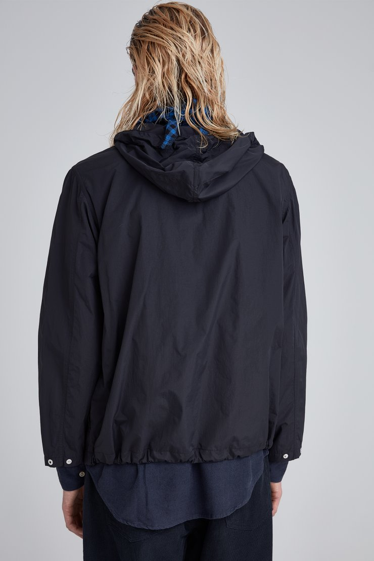 Cropped Lizard Parka